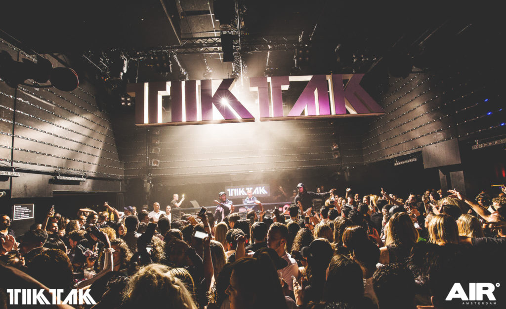 TIK TAK Kingsnight Air Amsterdam