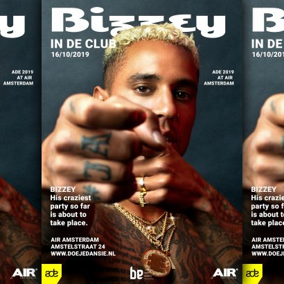 ADE Bizzey in de club AIR Amsterdam 2019